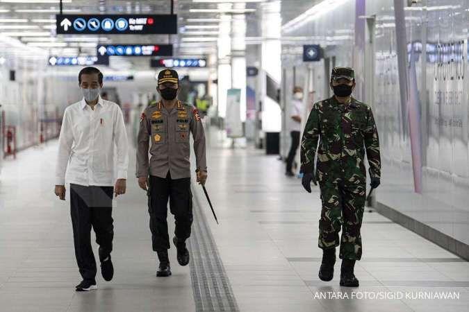 Petugas TNI dan Polri diturunkan untuk pendisiplinan protokol kesehatan