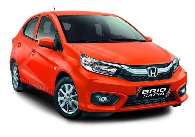 Harga mobil bekas Honda Brio tahun muda sudah turun per April 2021