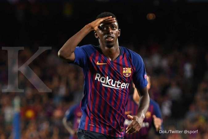 Ousmane Dembele diincar PSG