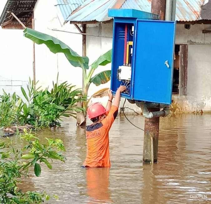PLN pulihkan 502 gardu distribusi listrik terdampak banjir di Jawa Tengah