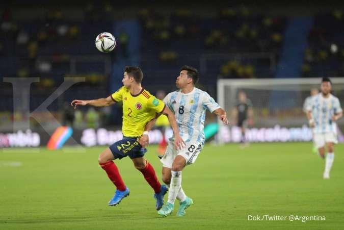 Hasil laga Kolombia vs Argentina di kualifikasi Piala Dunia 2022