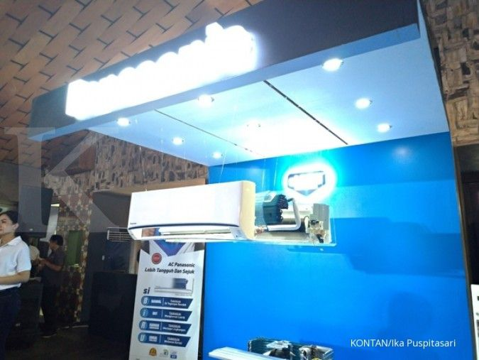 Jurus Panasonic Gobel kerek pangsa pasar pendingin ruangan