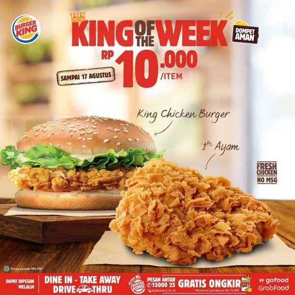 Promo Burger King
