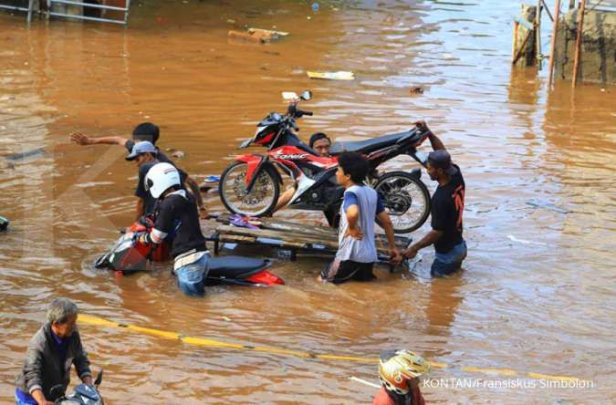 Berhentinya normalisasi sungai sejak 2017 jadi penyebab Jakarta banjir
