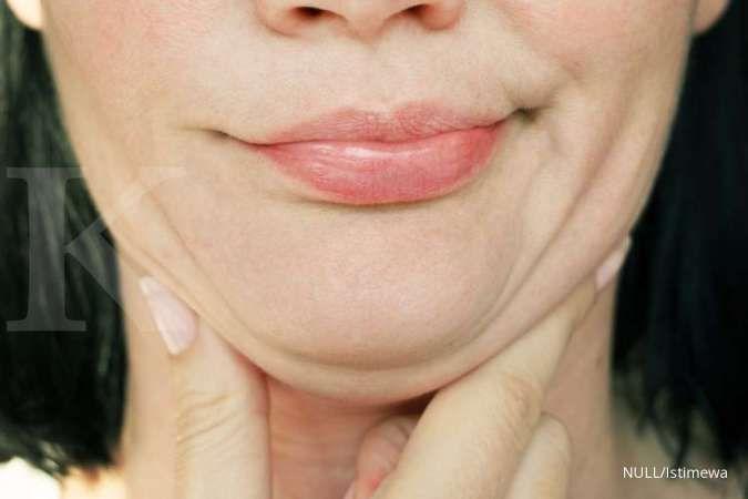 4 Cara menghilangkan double chin, tertarik mencoba?