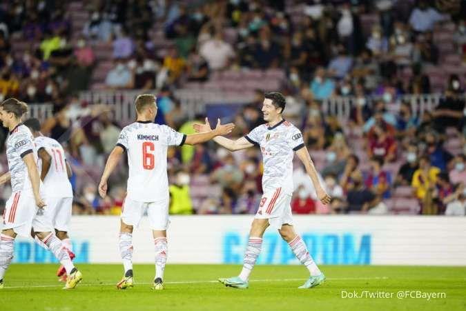 Hasil Liga Champions Barcelona vs Bayern Munchen: The Bavarians bungkam Blaugrana 0-3