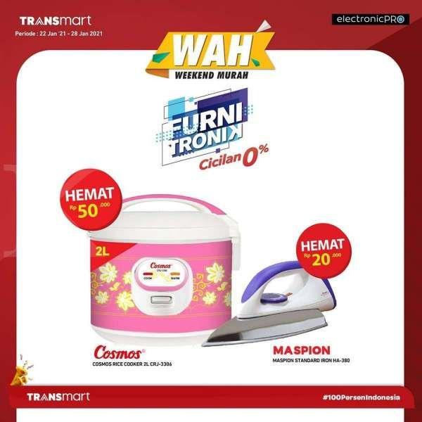Cek harganya, promo Transmart Carrefour 23 Januari 2021 diskon sampai 30%!