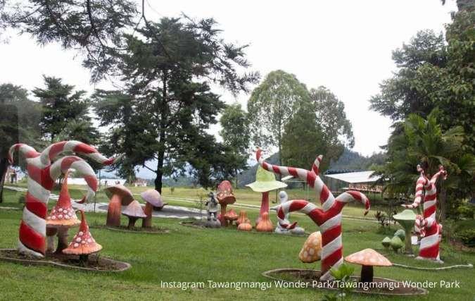 Tawangmangu Wonder Park, tempat rekreasi nyaman bagi keluarga