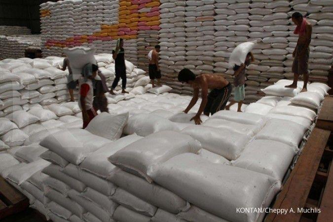 Saat sidak gudang Bulog di Surakarta, Mentan klaim stok melimpah