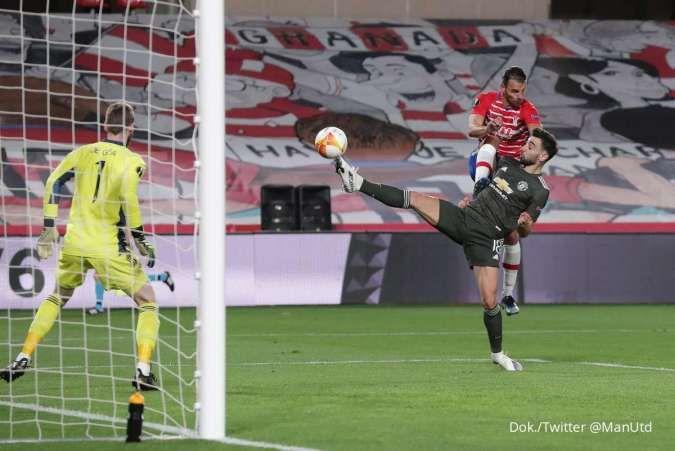 Granada vs Man United di Liga Europa: Setan Merah tekuk El Grana 0-2 di kandang