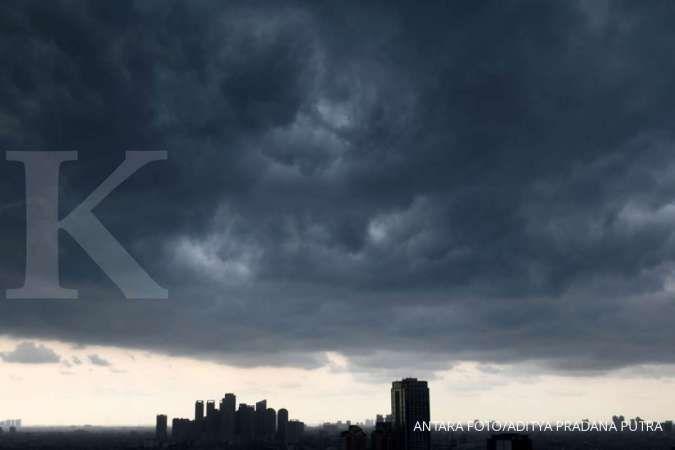 Hari ini, Jabodebek diguyur hujan ringan sejak pagi