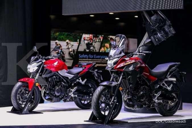 Motor Honda CB400X dan CB400F meluncur, begini spesifikasinya