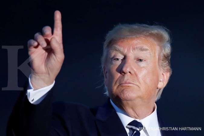 Lewat Twitter, Trump mengingatkan China, dia bakal lebih keras dalam bernegosiasi