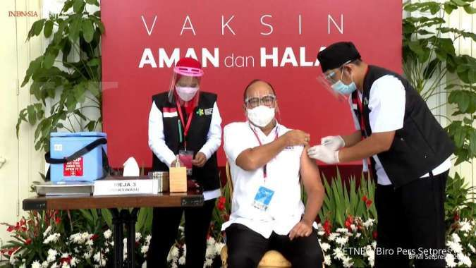 Kenapa hanya 181 juta penduduk Indonesia terima vaksin corona? Ini penjelasannya