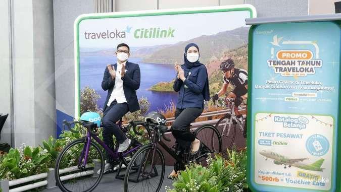 Dorong pemulihan industri pariwisata, Traveloka jalin kerja sama dengan Citilink