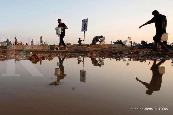 97% Airnya tercemar, penduduk Palestina di Gaza teracuni secara perlahan