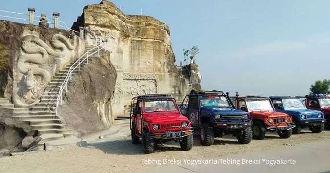 Harga tiket hanya Rp 5.000, yuk piknik ke Tebing Breksi Yogyakarta
