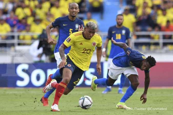Kolombia vs BrasilKolombia vs Brasil di Kualifikasi Piala Dunia 2022: Selecao tahan Los Cafeteros 0-0