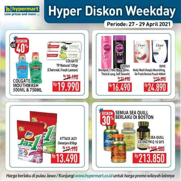 Promo Hypermart weekday 27-29 April 2021