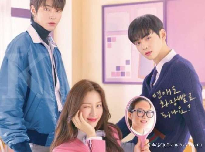 Drakor True Beauty, ini alasan sutradara pilih Moon Ga Young hingga Cha Eun Woo Astro