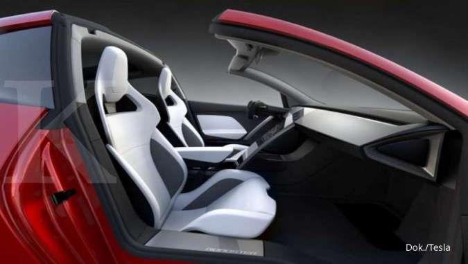 Elon Musk: Produksi mobil listrik Tesla Roadster terbaru mulai tahun depan