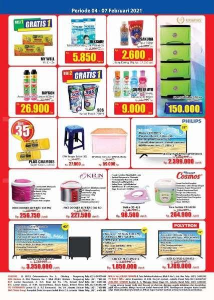 Katalog Promo Hari Hari KJSM Swalayan edisi 4-7 Februari 2021