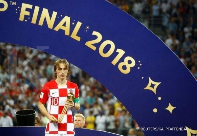 Luka Modric sebagai salah satu pemain yang sulit dibenci fans sepak bola