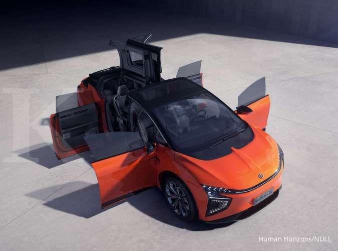 Mobil Listrik Asal China Hiphi X Miliki Kemiripan Dengan Tesla Model X