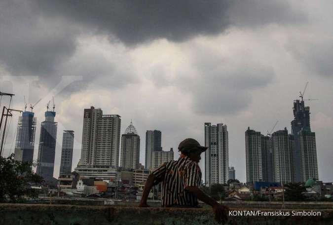 Cuaca besok di Jabodetabek hujan, Bogor, Depok, dan Bekasi hujan petir