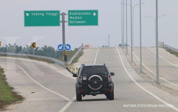 Libur Imlek, volume lalu lintas jalan tol Tebing Tinggi ruas MKTT naik 29,93%