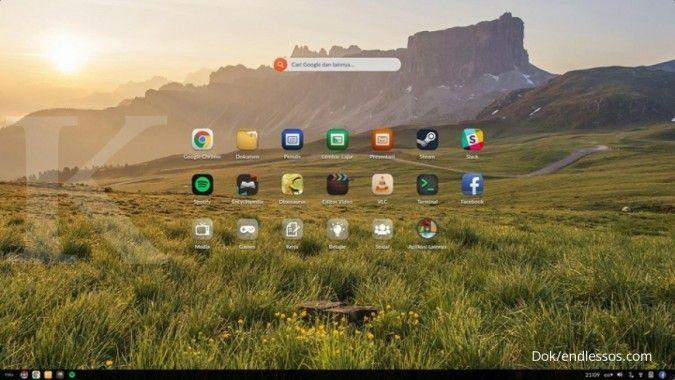 Endless OS meluncur lewat Asus dan Acer