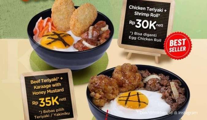 Promo HokBen 16 September 2021, dapatkan super bowl dengan harga Rp 30.000-an saja