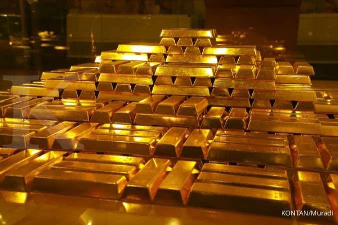 Cadangan devisa makin tambun, tapi cadangan emas turun