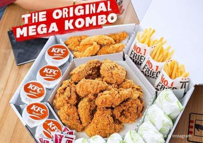Promo KFC 16 September, dapatkan The Original Mega Kombo atau The Best Thursday