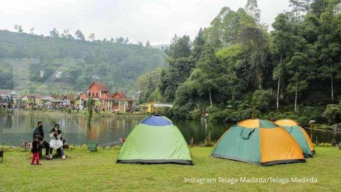 Wisatawan bisa berkemah di Telaga Madirda, ini rincian paketnya