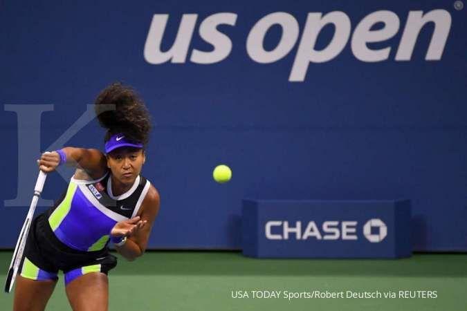 Kalahkan Azarenka, Naomi Osaka rebut trofi US Open