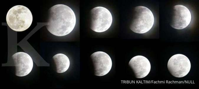 fenomena alam gerhana bulan penumbra