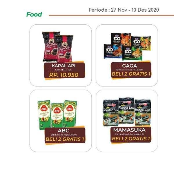 Promo Yogya Supermarket weekday 30 November 2020 menawarkan produk-produk segar kebutuhan harian. Dok: Instagram Yogya Group