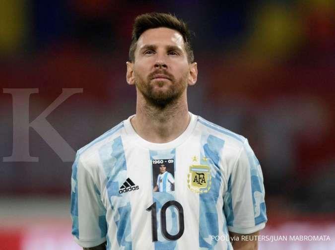 Lionel Messi bersama Argentina di Copa America