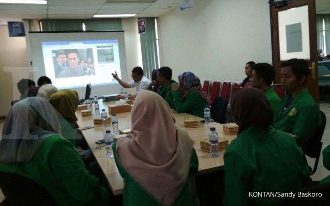 Kuliah lapangan ala mahasiswa Fikom UIC Jakarta