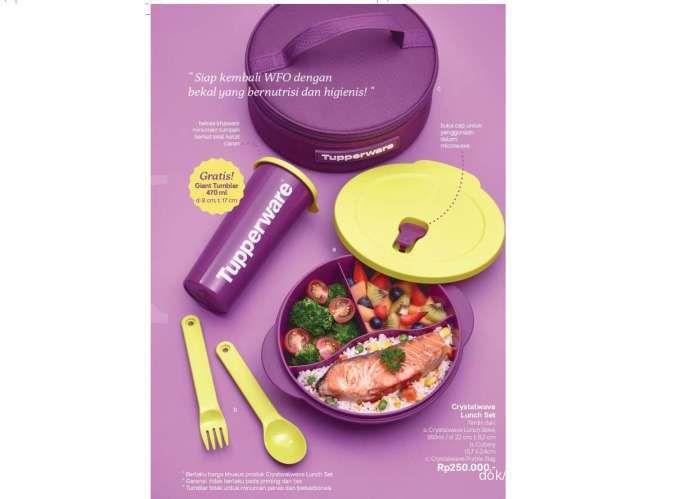 Brosur promo Tupperware Oktober 2021 beri diskon & potongan harga produk lunch box