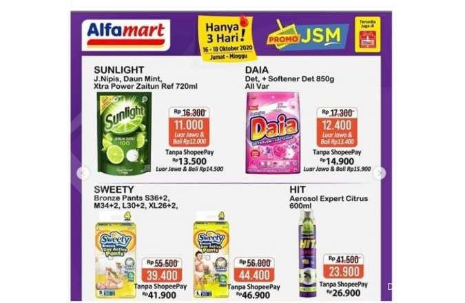Promo JSM Alfamart 16-18 Oktober 2020