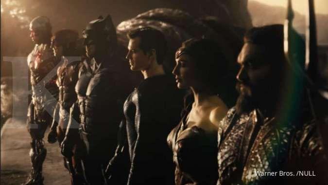 Justice League Snyder Cut yang tayang tahun 2021 akan menampilkan kembali aksi para superhero DC.