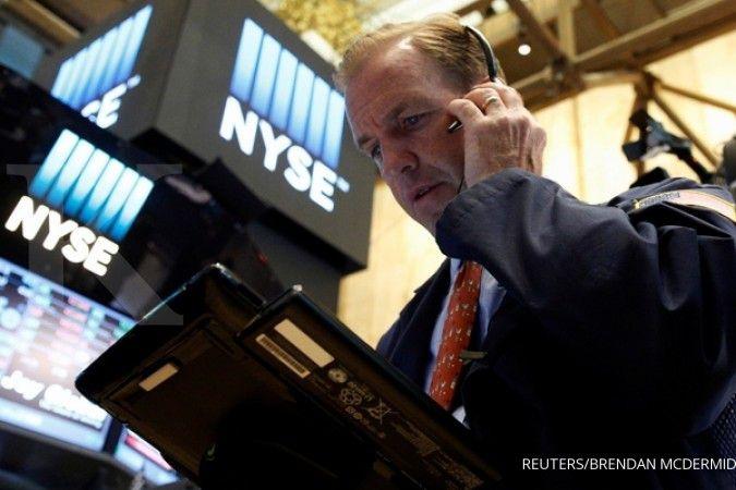 Penurunan Dow Jones berlangsung 7 hari beruntun