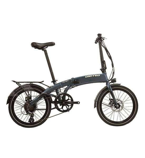 Harga sepeda lipat United Furion e-bike tak bersahabat dengan kantong
