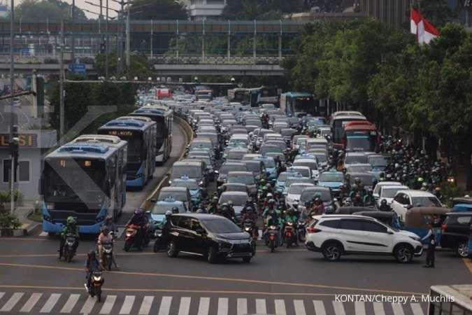 Macet Jakarta turun 8%, ini lima alasannya