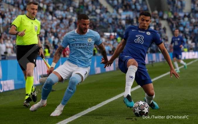 Hasil laga Man City vs Chelsea di final Liga Champions