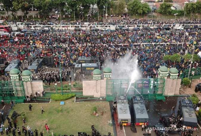 Sambut pemerintahan baru Jokowi-Ma'ruf, BEM SI bakal gelar demo di Istana hari ini