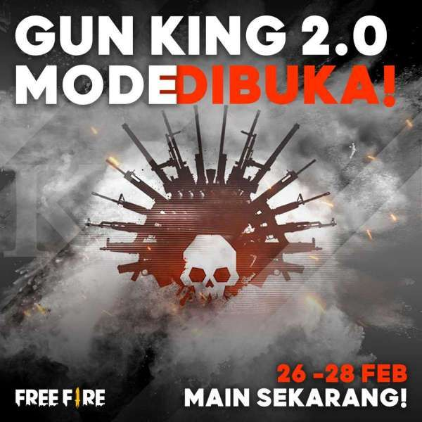 Gun King 2.0 Mode - Free Fire
