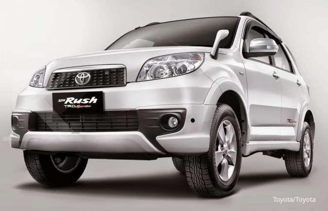 Intip harga mobil bekas Toyota Rush varian facelift, murah meriah per Mei 2021